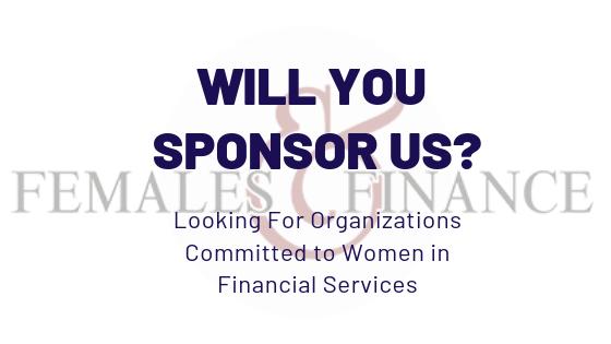 Females and Finance - Sponsorship