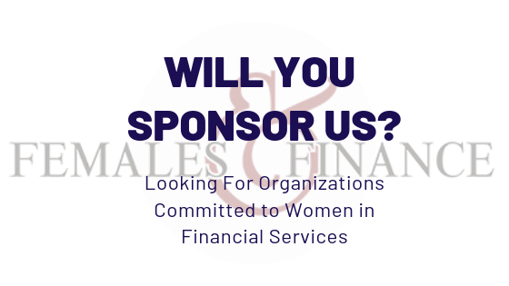 Females and Finance - Sponsorship