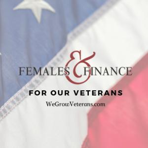 Females and Finance - WeGrowVeterans square logo